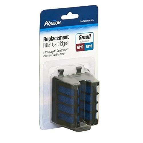Aqueon QuietFlow Internal Filter Cartridge Small 4 Count by Aqueon