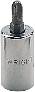 "product image for Wright Tool 3267 3/8"" Drive Phillips Screwdriver Bit and Socket, #3"