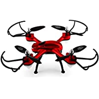 Owill 668-A9 WiFi FPV 4CH With Camera Headless Mode LED RC Quadcopter RTF (Red)