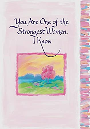 Blue mountain arts classic greeting card you are one of the blue mountain arts classic greeting card you are one of the strongest women i m4hsunfo Image collections