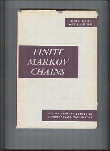 finite markov chains kemeny snell