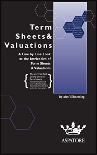 Amazon term sheets valuations a line by line look at the amazon term sheets valuations a line by line look at the intricacies of term sheets valutions bigwig briefs ebook alex wilmerding fandeluxe Image collections