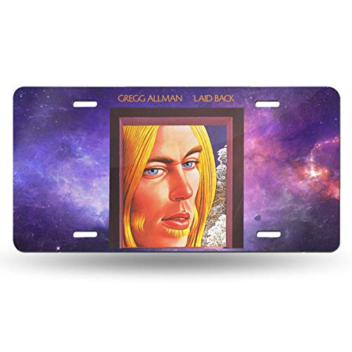 - Aruba Z Legend Gregg Allman Laid Back Remastered Custom Personalized Metal License Plate USA Car Tag Novelty Tag Vehicle Auto Car Initial Front License Auto Tag