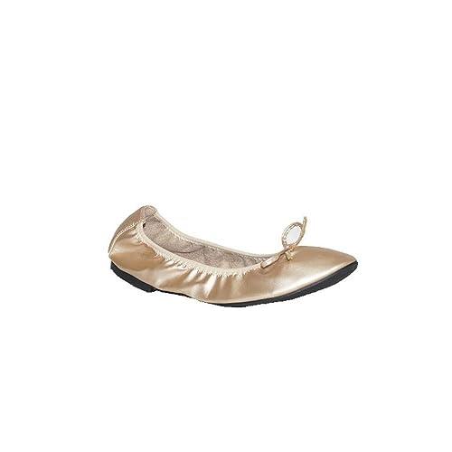 05317b34b87 H D Moda Española - Bailarina Plegable MYLL Zapatos Bailarina para Mujer  Rosa Beige Plegables Fiesta Confort