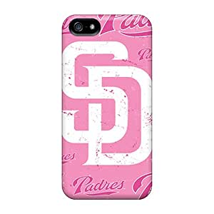 KaraPerron Iphone 5/5s Shock Absorption Hard Cell-phone Cases Support Personal Customs Vivid San Diego Padres Skin [dTy9091Qspu]