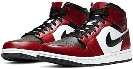 AIR JORDAN 1 MID CHICAGO BLACK TOE エアジョーダン 1 MID 554724-069