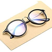 Mr. Brand UV Protected Transparent ROUND Glass Sunglasses For Unisex (Transparent Sunglass With Box)