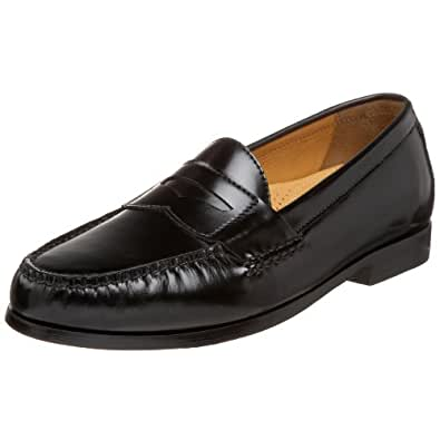 Amazon.com | Cole Haan Men's Pinch Air Penny Loafer, Black ...