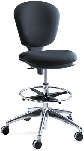 Safco Products 3442BL Metro Extended Height Chair (Additional options sold separately), Black (Chairs Height)