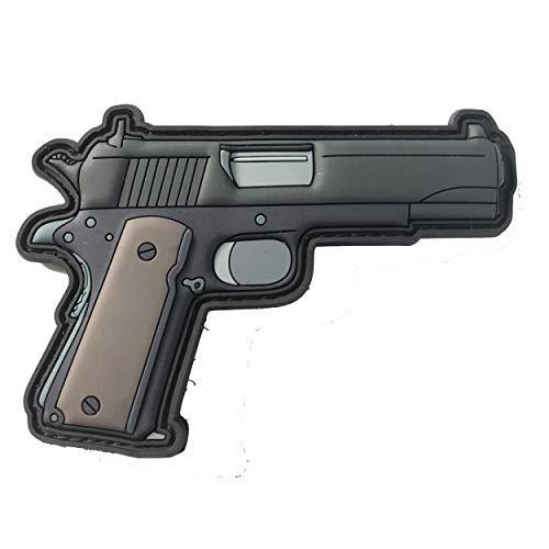 1911 Cal. 45 Gun 3D PVC Progun 2nd Pistol Patch