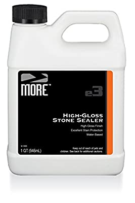 MORE High-Gloss Stone Sealer