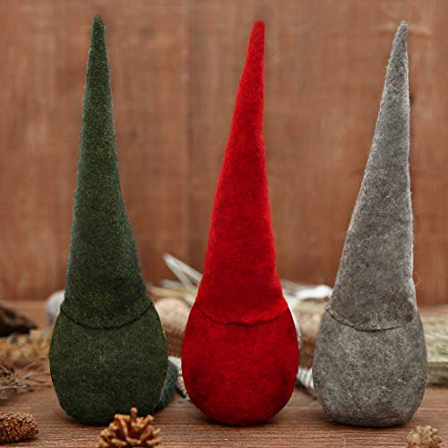 FUTUREPLUSX Easter Gnome Plush, 3PCS Swedish Gnome Handmade Birthday Gnome Scandinavian Tomte
