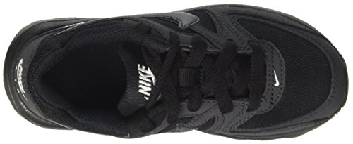 Nike Air Max Command Flex (Ps), Zapatillas de Entrenamiento los Niños y Adolescentes, Multicolor (Black/Anthracite/White), 27.5 EU