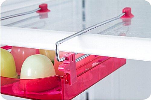 Kühlschrank Flaschenhalter Universal : Hibote multi kühlschrank lagerung schublade gefrierschrank