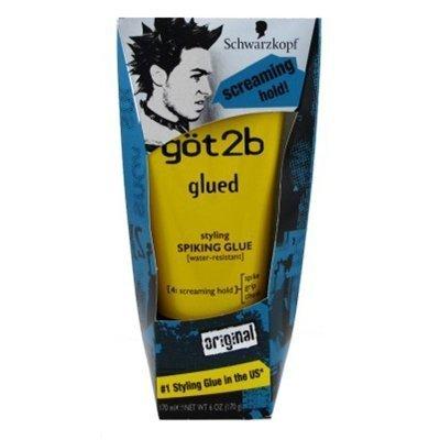 Schwarzkopf Got2b Glued Spiking Glue 6 Oz (Pack of 6)