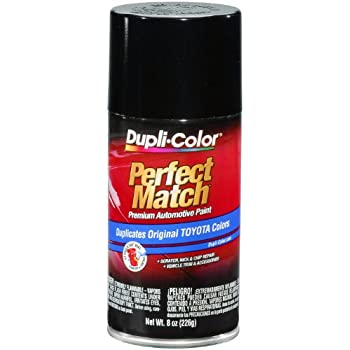Dupli-Color BTY1566 Black Metallic Toyota Exact-Match Automotive Paint - 8 oz. Aerosol