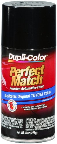 (Dupli-Color BTY1566 Black Metallic Toyota Exact-Match Automotive Paint - 8 oz. Aerosol)