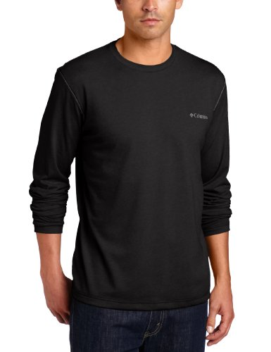 Columbia Men's Thistletown Park Long Sleeve, Black, Small