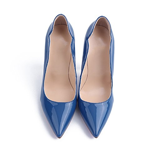 Compensées bleu Bleu Sandales Minitoo femme B0AW6vqnw