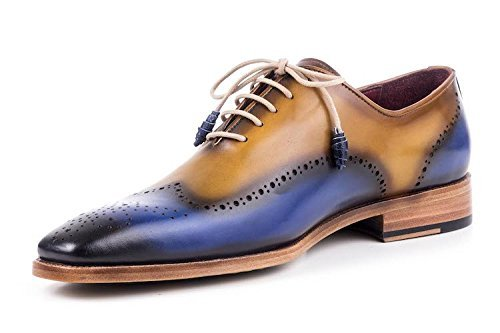 Maglieriapelle Handcrafted Ortakoy Oxford Shoe in Blue by Maglieriapelle
