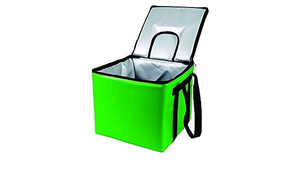 sevenoks Krate kooler-kelly verde de bolsa térmica, capacidad 1 estándar tamaño caja de leche con dispensador tapa, 15,5
