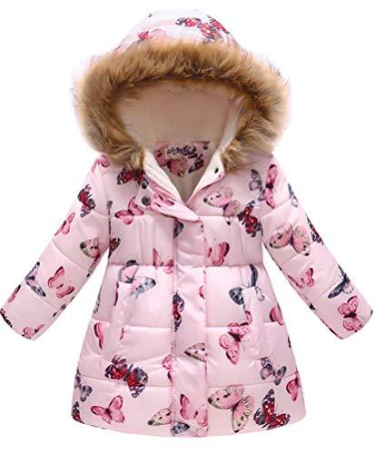 Leeharu Donsjack voor meisjes, baby, lange mouwen, dik, winterjas