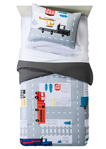 Pillowfort Road Map Comforter Set Twin