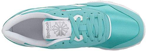 Stark Reebok Gre Sneaker Women's Brights Turquoise Nylon Cl White 6qnxHZw0Fq