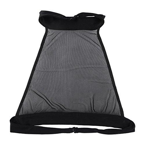 fdaad9d6729 Freebily Sexy Women s Sheer Mesh Bra See Through Bralette Bustier Tank Top  Vest Crop Tops