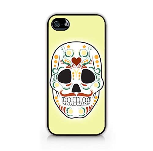 Cream Cookies - Halloween Icons Patterns - Ornamental Sugar Skull - Apple iPhone 5 Case - Apple iPhone 5S Case - Hard Plastic Case]()