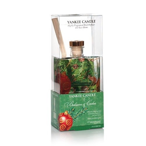 Yankee Candle Balsam and Cedar 3 Ounce Signature Reed Diffuser