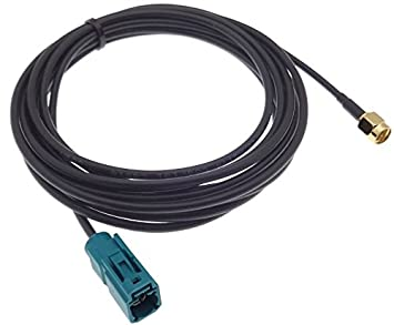 Antennenverlängerung FAKRA Antennen Kabel Verlängerung 500 cm 5 m Antennenkabel