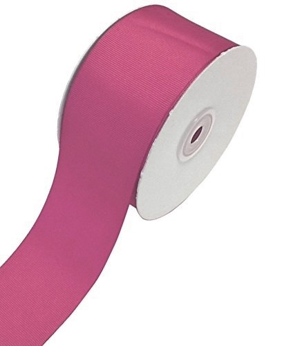 Ben Collection 2 Inch X 50 Yard Grosgrain Plain Ribbon Party, Wedding Favor Crafting Ribbon (Colonial Rose) (Rose Colonial Wide)