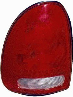 QP D8145-d Plymouth Voyager Driver Tail Light Lens & (Plymouth Voyager Driver)