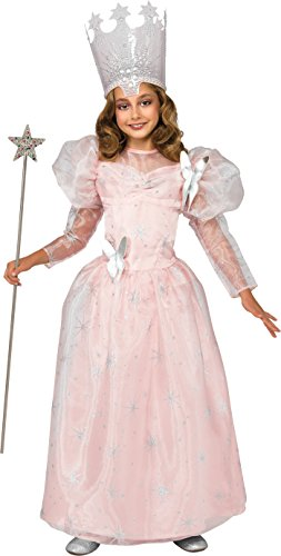 Rubie's 886495 Girls Small 4-6 Glinda Good Witch Child Costume New Edition -
