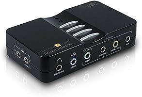 Vantec NBA-200U USB External 7.1 Channel Audio Adapter Black