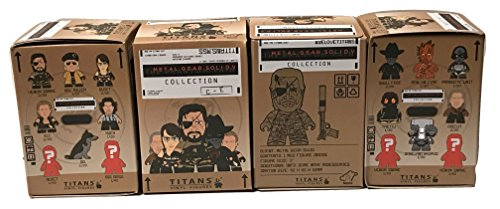 Metal Gear Solid TITANS: The Phantom Pain Collection 4 Blind (Titan Metal)
