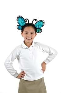 Elope H2694 - Diadema para disfraz de mariposa, color azul