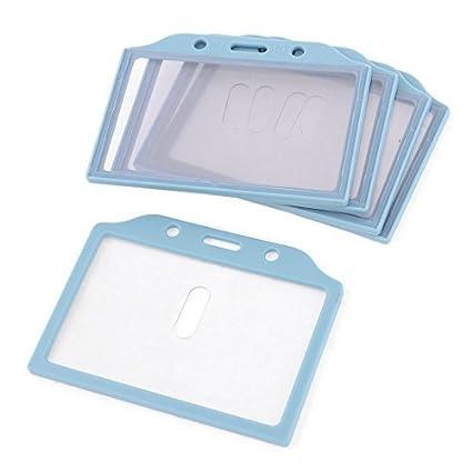 Amazon.com : Titular de la tarjeta ID de placa de plástico ...