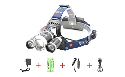 LED-Headlamp-Headlight-iZEEKER-6000-Lumens-18650-Rechargeable-Batteries-Waterproof-Zoomable-Headlamps-4-Modes-Super-Bright-Outdoor-Sports-Running-Walking-Camping-Reading-Hiking-Riding-Fishing
