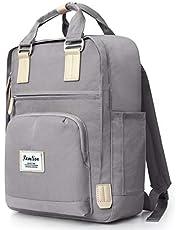 YAMTION Unisex Rucksack Daypack Schulrucksack mit Laptopfach, Lässiger Tagesrucksack Wasserdichter für 15.6 Zoll Laptop & 9.7 Zoll Tablette Laptop Rucksack für Damen und Herren, Mädchen und Jungen