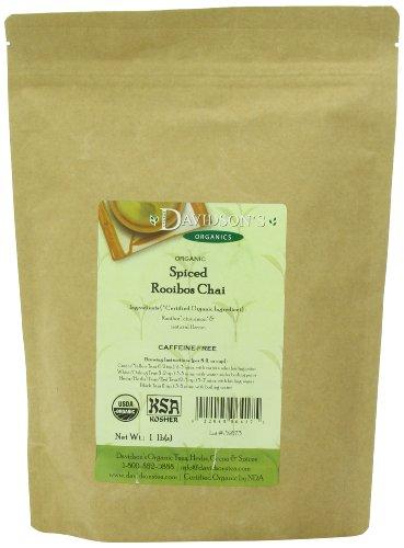 Davidson's Tea Bulk, Org Spiced Rooibos Chai, 16-Ounce Bag