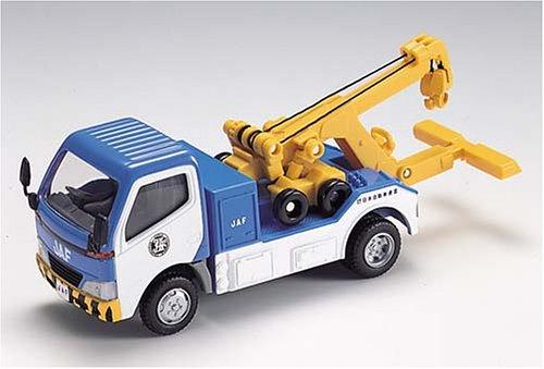 1/43 JAFレッカー車(ブルー×ホワイト×イエロー) 「MTECH -エムテック- T-48」 48880-0