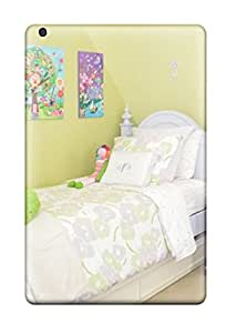 Charles Lawson Brice's Shop 3160308K12433873 Anti-scratch And Shatterproof Girls Room With White Twin Bed 038 Green Pillow Phone Case For Ipad Mini 3/ High Quality Tpu Case