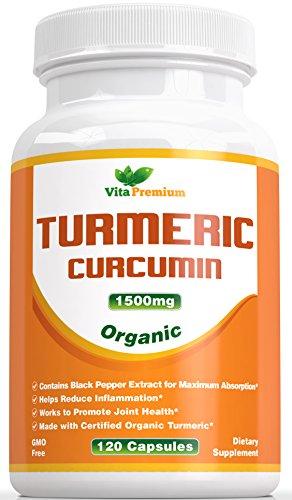 Turmeric Curcumin 1500mg Pepper Extract product image