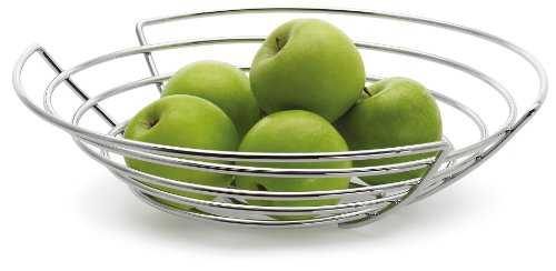 Blomus Basket 36 Cm Stainless Steel Fruit Basket