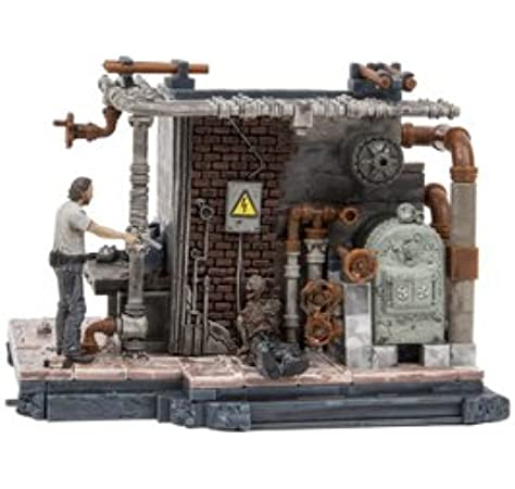 McFarlane AMC The Walking Dead-THE BOILER ROOM BUILDING SET 176 Pieces