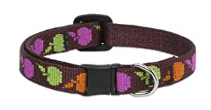 LupinePet 1/2-Inch Candy Apple 8-12 Cat Safety Collar
