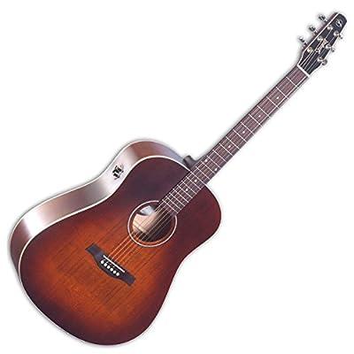 Seagull Seagull S6 Original Burnt Umber QIT Acoustic-Electric Guitar