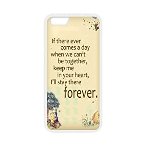 iPhone 6 Case,iPhone 6 (4.7) Case Protective,Winnie the Pooh Protection Hard Case for iPhone 6 (4.7) Soft Flexible TPU material for iPhone 6